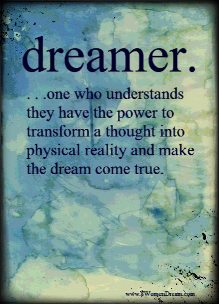 8WD Definition of a Dreamer Image Quote for Post