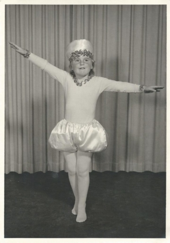 Enhanced Ballet Photograph 1965 Pearl