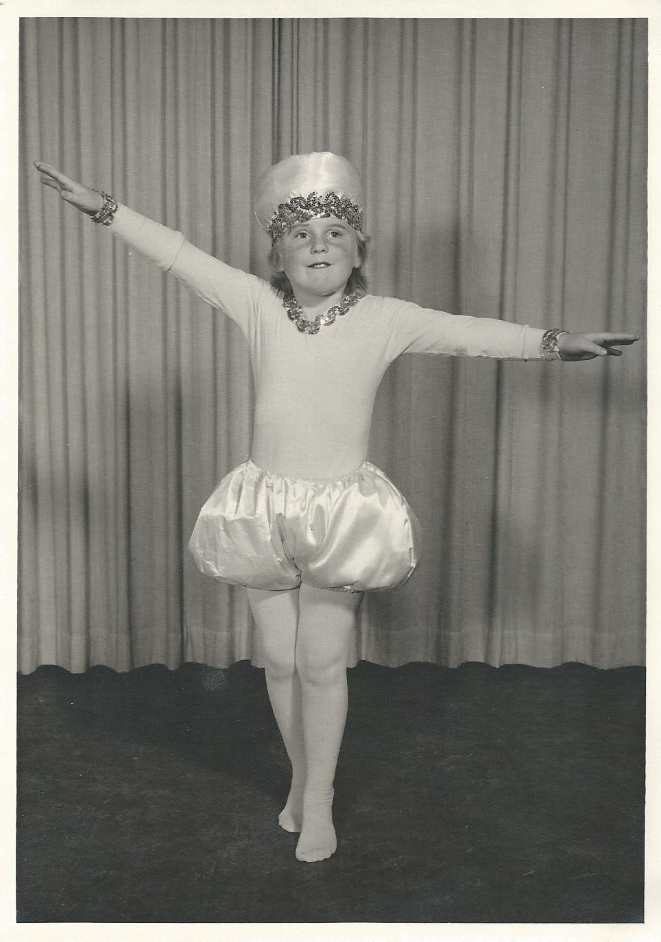 Enhanced Ballet Photograph 1965 Pearl