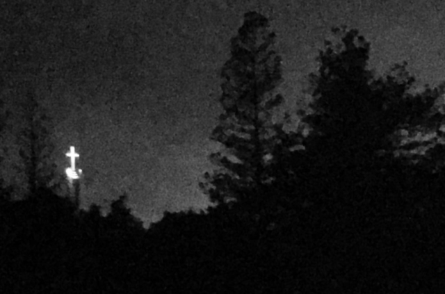 Night image w/ iPhone