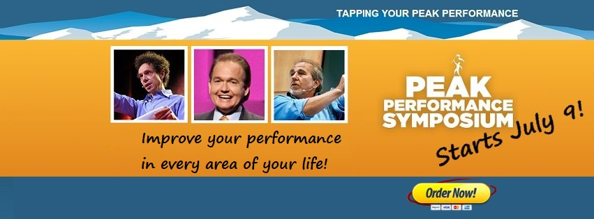 Peak Performance Symposium Facebook Social Media Banner Ad