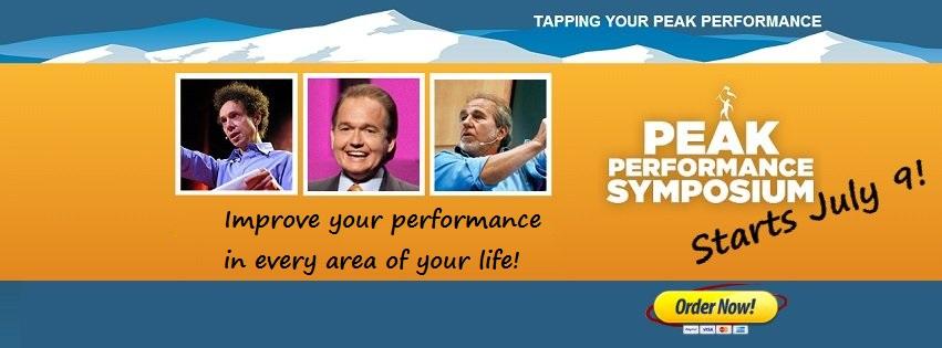 Peak Performance Symposium Facebook Social Media Banner Ad