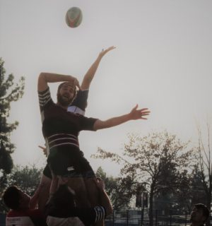 Line-out Rugby Photo for Social Media