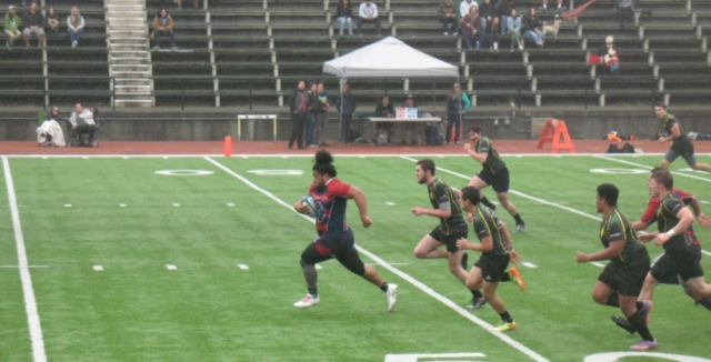 SRJC Rugby Player Running for His Life on the Pitch