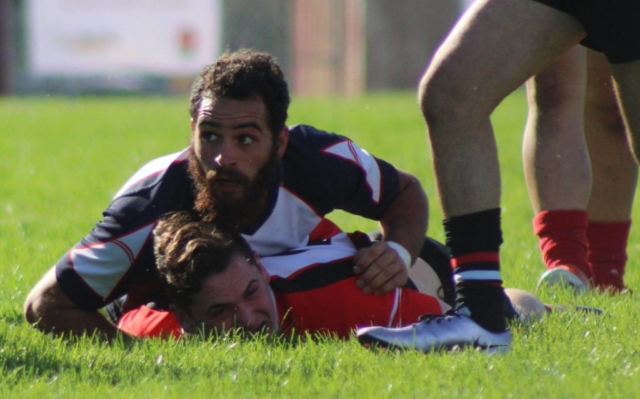 SRJC Rugby Game Tackle