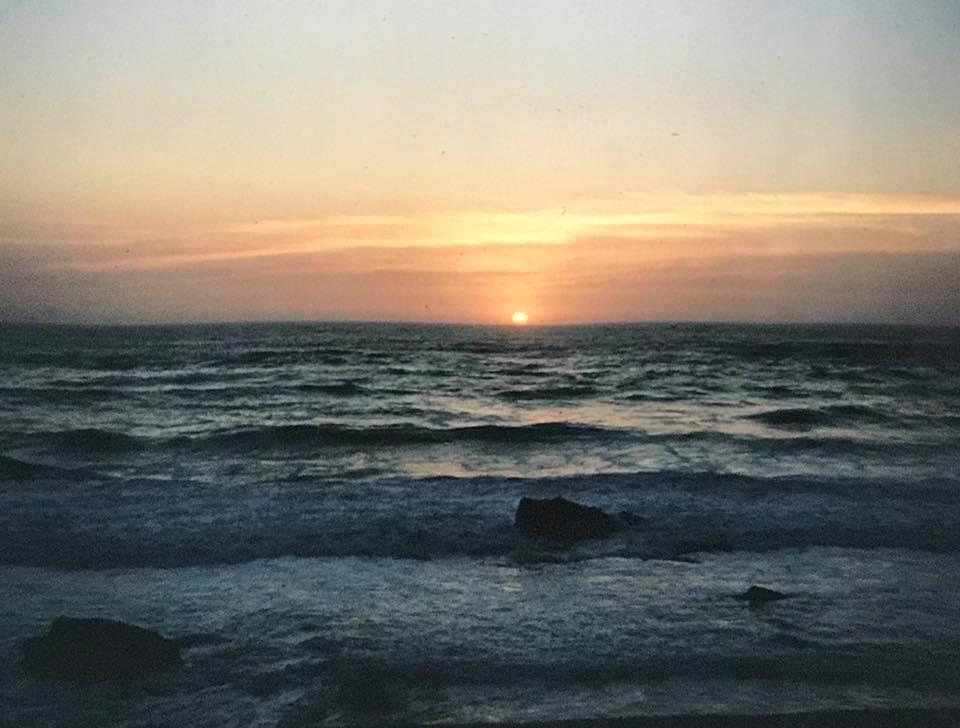 Sunset on the Beach iPhone