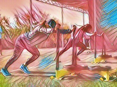 Exercise Training Artwork Forward Motion Studios