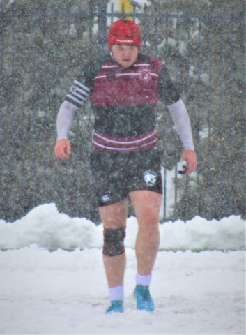 UNR Rugby and Chico State Rugby in the Snow Social Media Post
