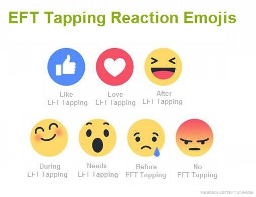 Tapping Emojis for Dawson Church Social Media Share