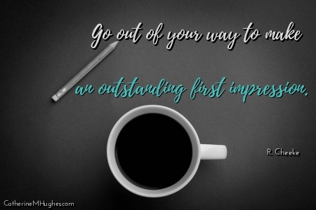 First Impression Image Quote - 1 Business Marketing Mistake Costing You Customers