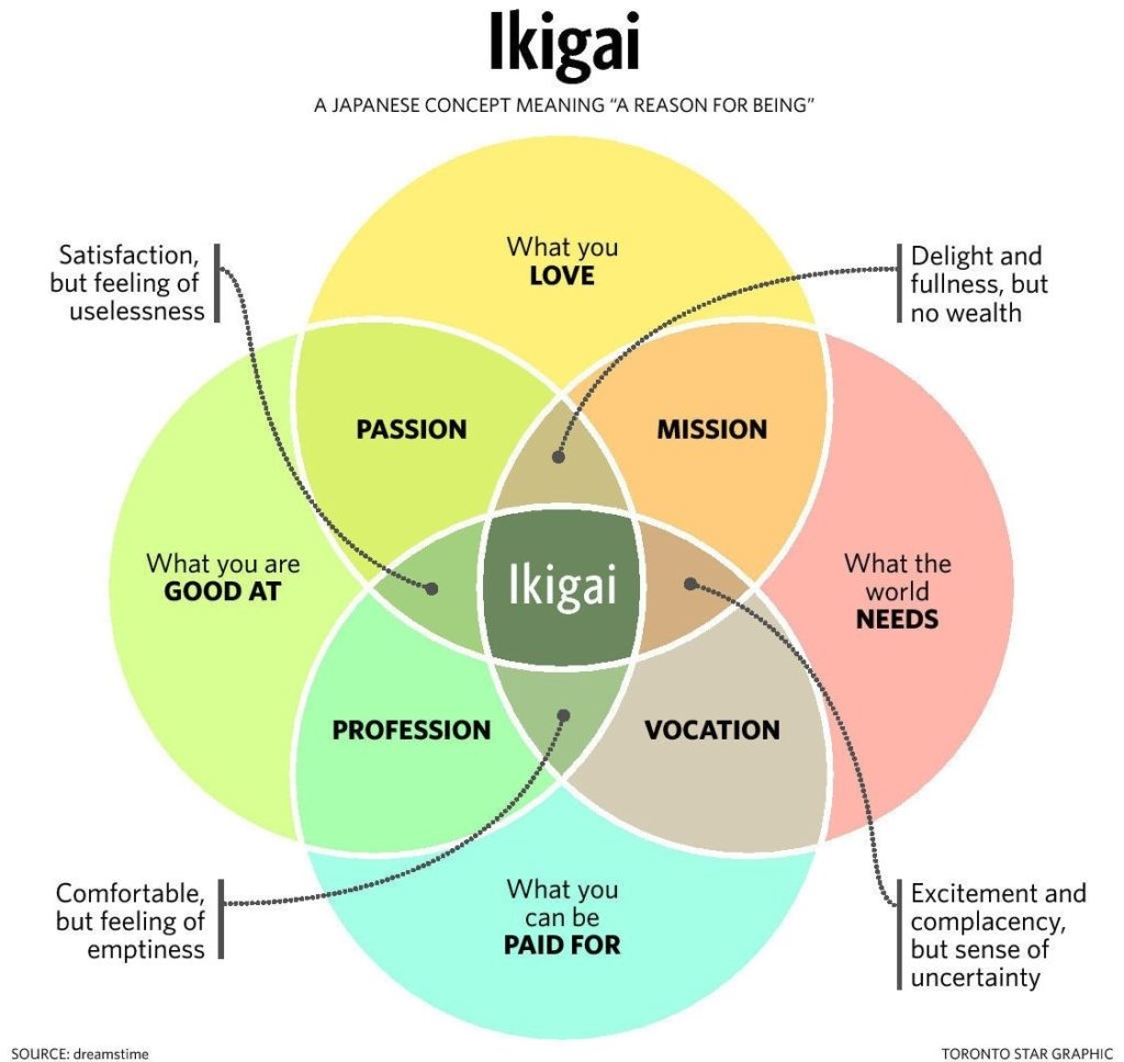 Ikigai - A Japanese Concept Meaning 'A Reason for Being.' from Weforum.org
