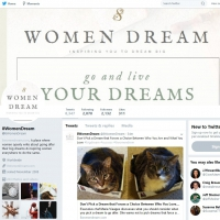8WomenDream on Twitter
