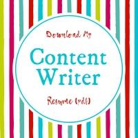Catherine Hughes Web Content Writer Resume