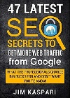 47 Latest SEO Secrets to Getting More Web Traffic From Google book on Amazon