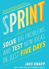 Sprint: How To Solve Big Problems and Test New Ideas in Just Five Days Paperback on Amazon