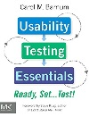 Usability Testing Essentials: Ready, Set...Test! book on Amazon